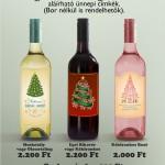 Karácsonyi boroscímke