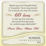Névre szóló bor, borcímke